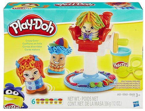 Amazon Deal: Play-Doh Crazy Cuts Looking for some gift ideas for a young one on your list? Who doesn't love Play-Doh right? This great Play-Doh Crazy Cuts