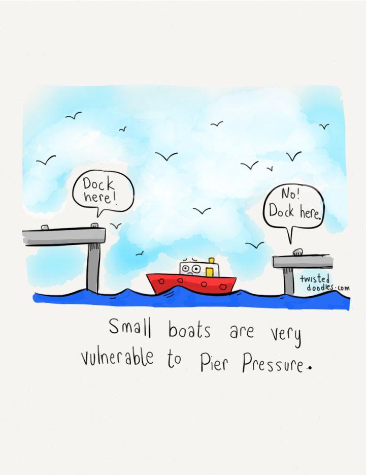 The YUNiversity - twisteddoodles:   Boat pun