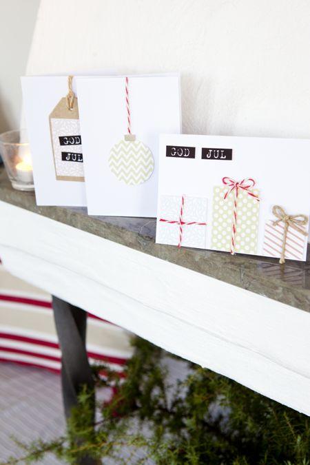 Hildas hem: Dag 4: Gör egna julkort