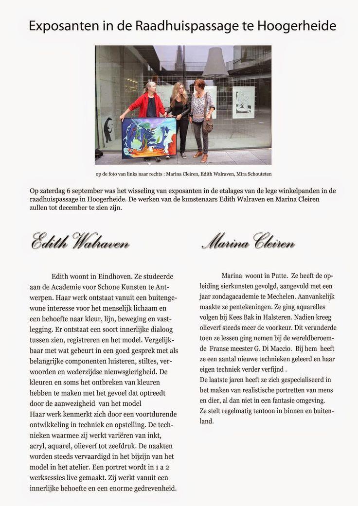 WALRAVEN.KUNST.ART: Ladies on the move...... Kunst van E. Walraven in ...