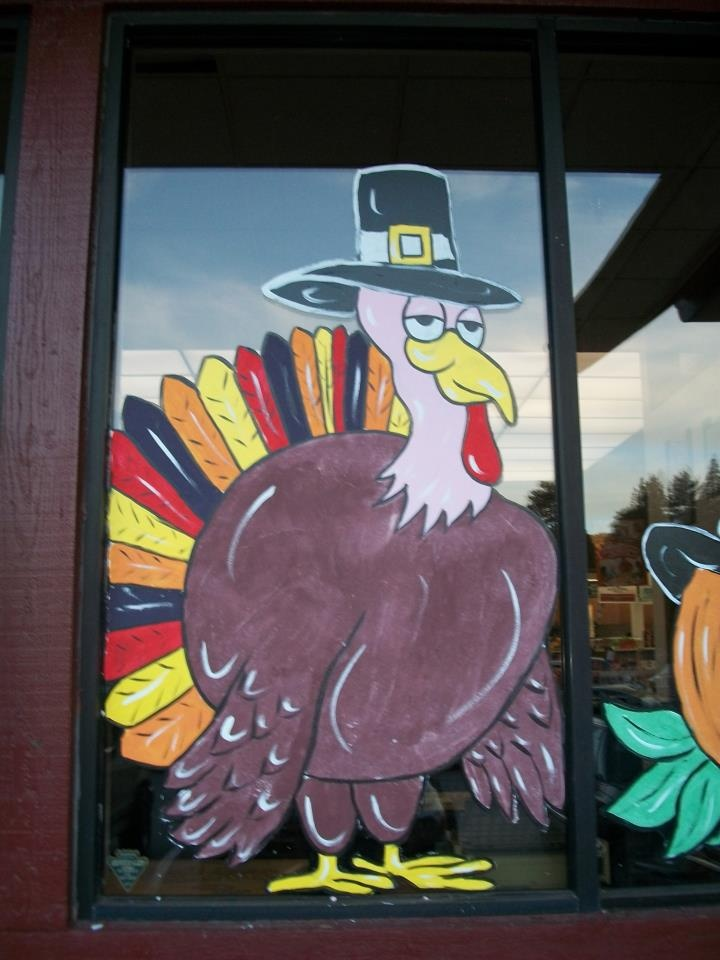 24 best Holiday Window Painting (Christmas, Halloween