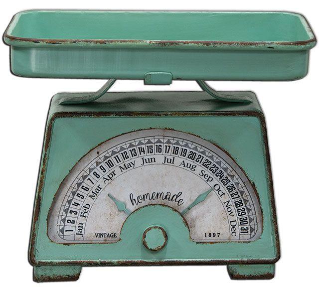 KP Creek Gifts Vintage Scale Calendar! Love This!!!
