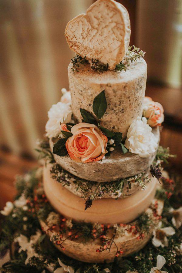Stylish and Organic Barn Wedding at fforest