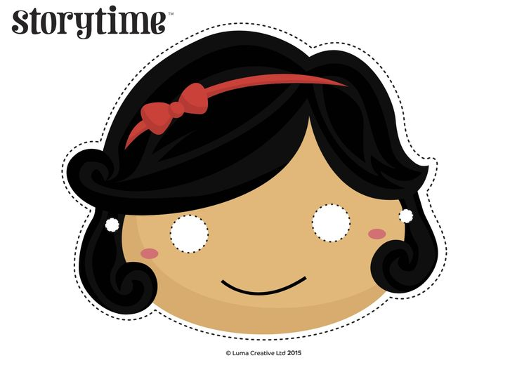Read Snow White in Storytime Issue 16 and act it out with our free printable masks! ~ STORYTIMEMAGAZINE.COM