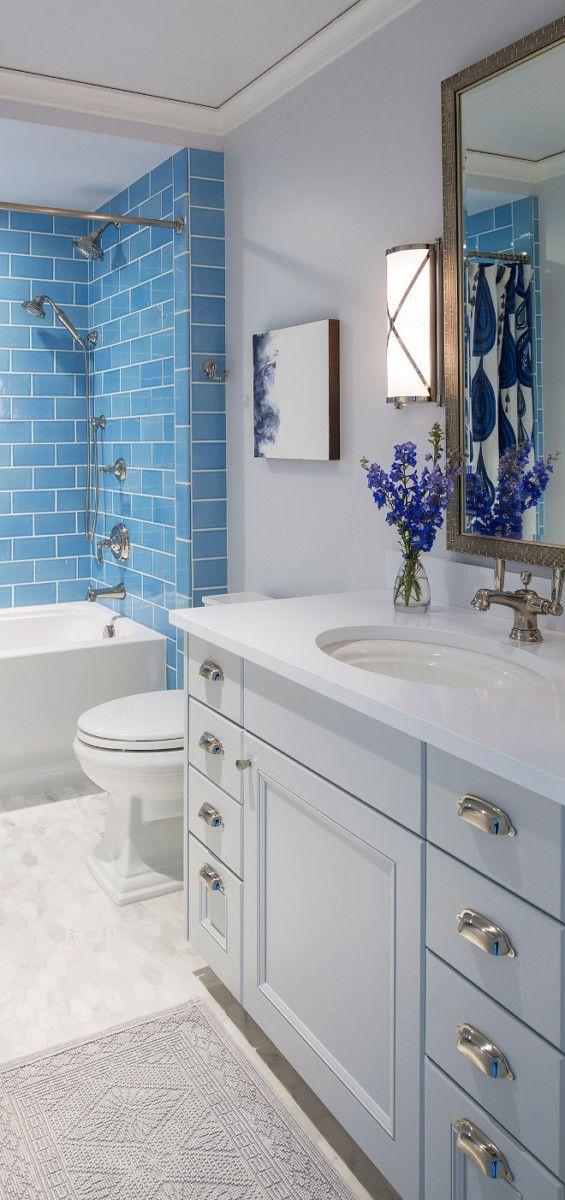 what i love wednesday blue white and gray bathrooms pinterest rh pinterest com