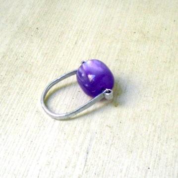 Purple - alluminio e pietra dura