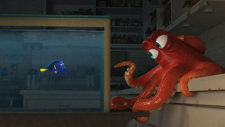 Breaking: Disney Pixar just announced that Hank, the camouflaging septopus from Finding Dory, has actually appeared in every one of their films.Read the full announcement!