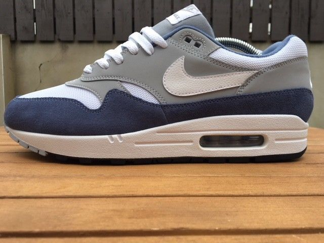 3587ae13fb0a4 Nike Air Max 1 WE 12 UK Men EU 47.5 Wolf Grey Diffused Blue NEW AT0060