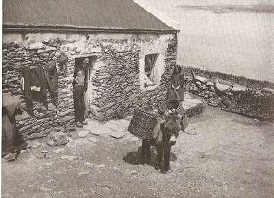 The Blasket Islands are a group of islands off the west coast of Ireland, forming part of County Kerry. They were inhabited until 1953 by a completely Irish-speaking population. The inhabitants were evacuated to the mainland on 17 November 1953.
