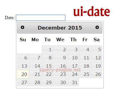 ui-date – jQuery UI Datepicker for AngularJS #date #jQueryUI #datepicker #jQuery #AngularJS #angular #directive #ui