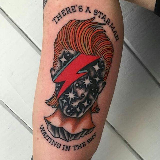 David Bowie tattoo                                                       …