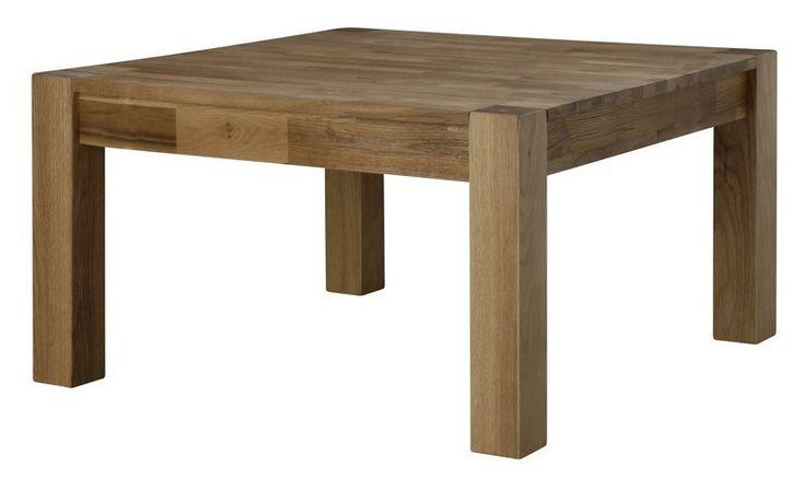 Oslo Sofabord - Kvadratisk sofabord i olieret eg. Sofabordet kan anvendes enten alene eller parvis, hvilket giver større fleksibilitet i indretningen end med blot et stort sofabord.