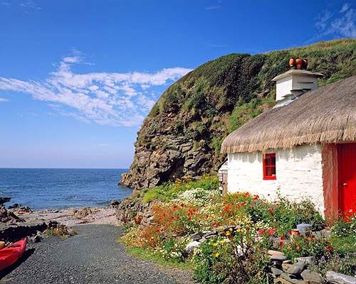 thatched cottage, Isle of Man