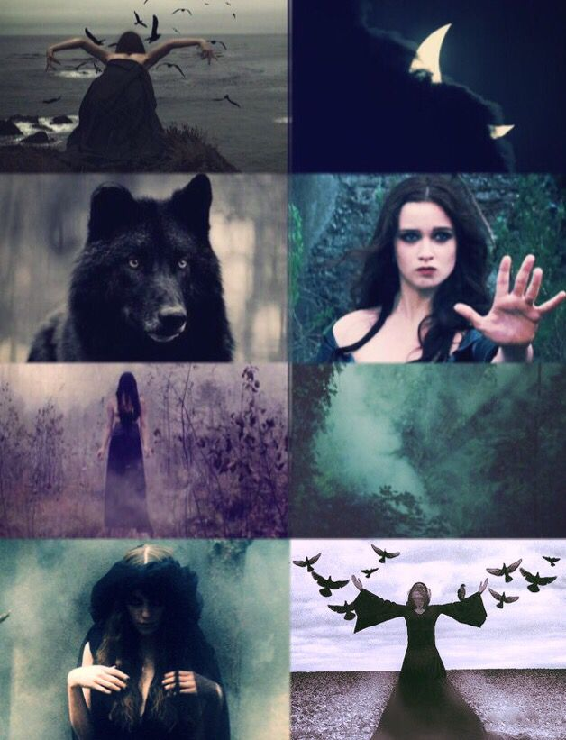 Hecate, the goddess of Magic, Mist and Crossroads