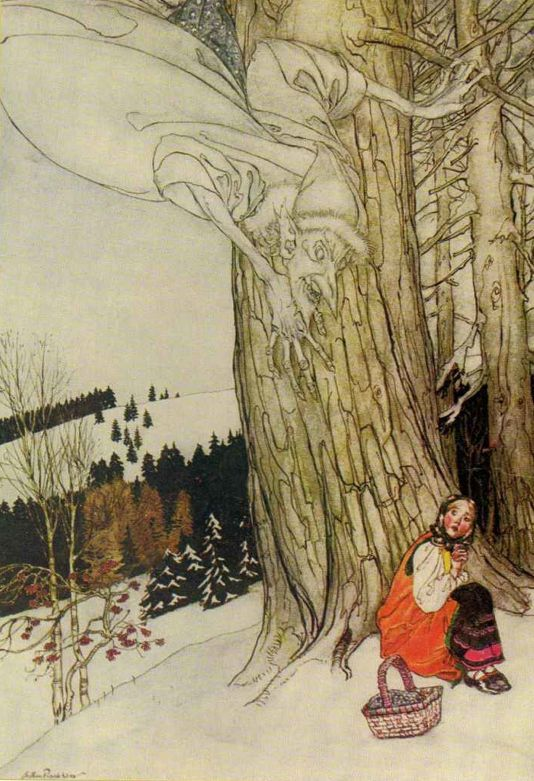 Jack Frost - The Allies' Fairy Book, 1916 by Arthur Rackham