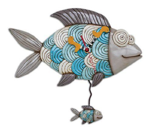Fish Wall Clocks