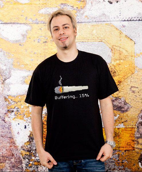 Best friend gift funny tshirt Buffering boyfriend Gift by store365