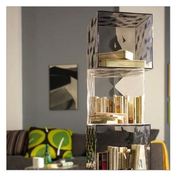 Best Kartell Plastics As An Alternative To Glass Images On - Colorful glass drawers that can form an art object