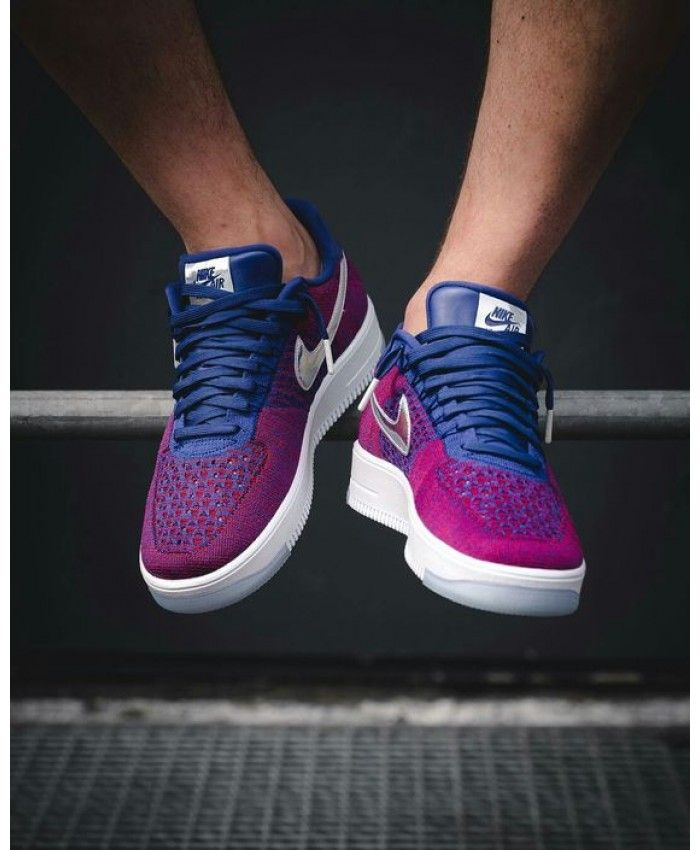 premium selection fbfac d984a Nike Air Force 1 Ultra Flyknit Purple Shoe