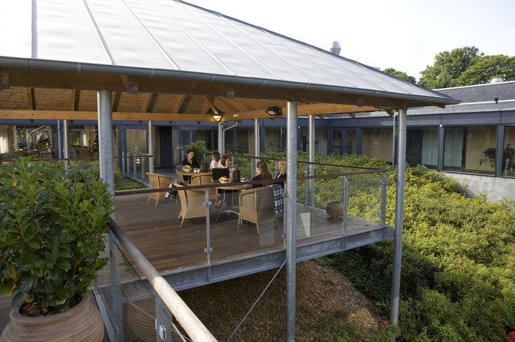 Skøn terrasse på Comwell Roskilde