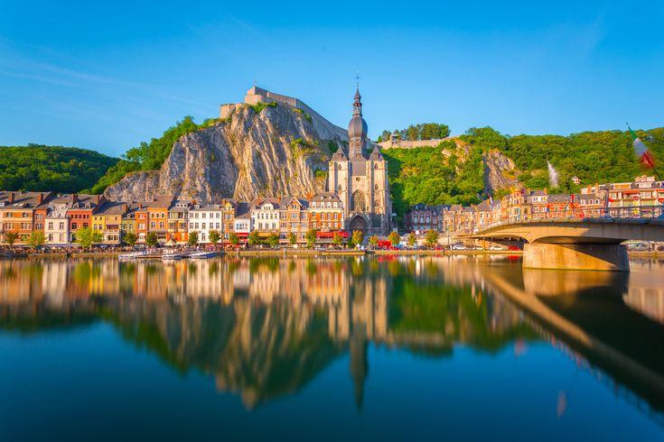 Dinant. Town in Belgium, Europe