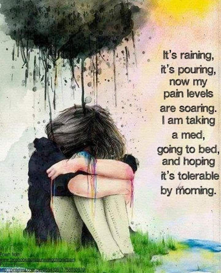It's raining... Chronic Migraines