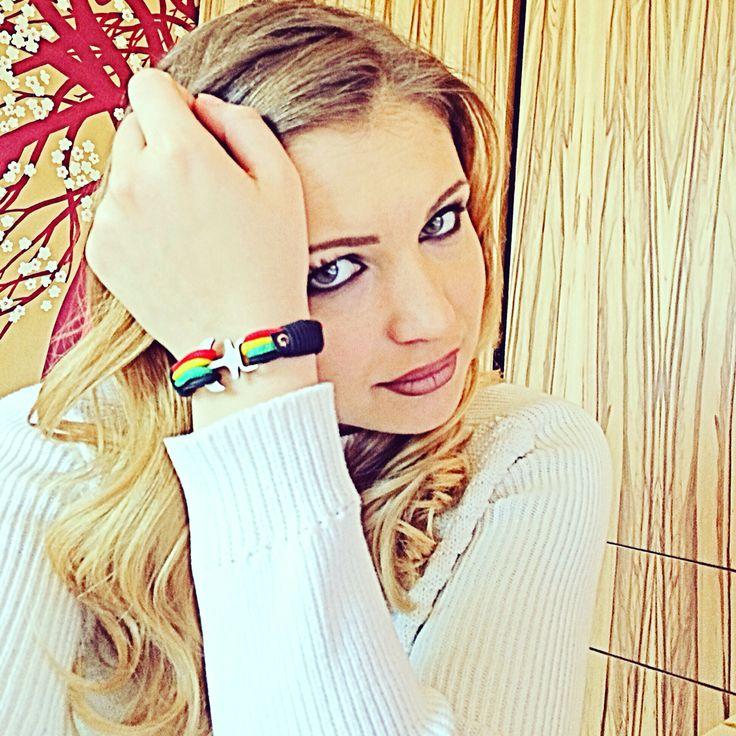 I love my GOBYA Nautical Bracelet!  www.go-bya.uk