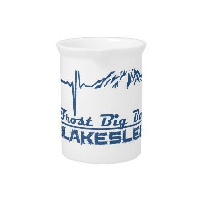 Jack Frost Big Boulder  -  Blakeslee - Pennsylvani Drink Pitcher - kitchen gifts diy ideas decor special unique individual customized