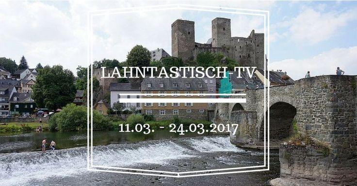 In dieser Rubrik informiere ich Euch regelmäßig über TV-Beiträge , welche die Lahn und ihre herrliche Umgebung als Thema haben. Natürlich können auch andere Ausflugsziele in Hessen, Rheinland-Pfalz oder Deutschland das Thema sein.