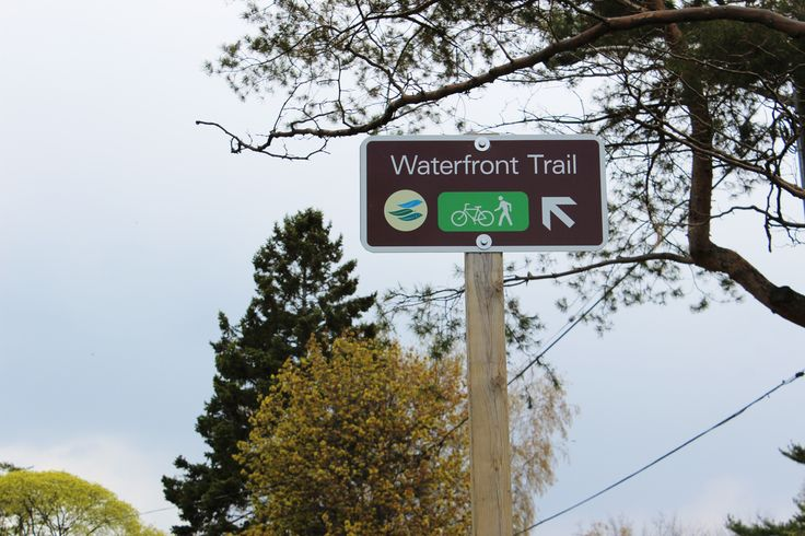 Whether you're running, walking or biking, the waterfront trail in Port Credit is a must see.