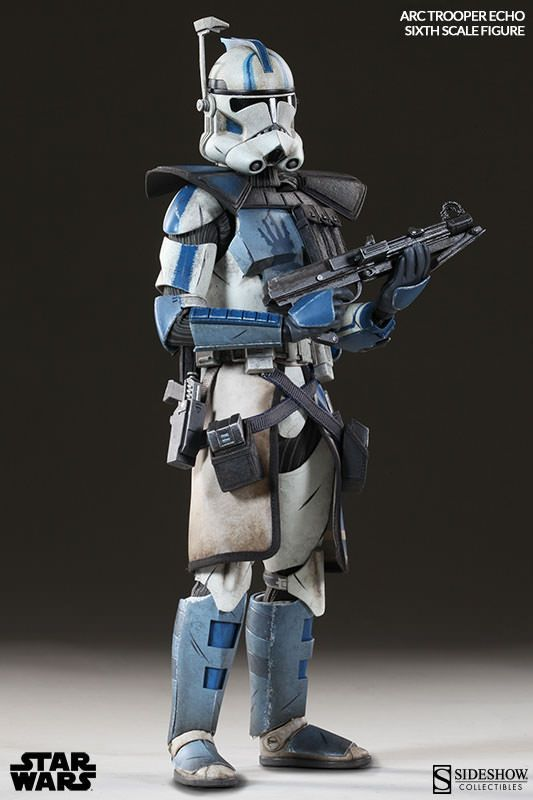 Star Wars Arc Clone Trooper 1/6 Echo Phase II Armor Sideshow Collectibles