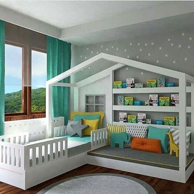 love this idea for a kids room - Bedroom Design Ideas For Kids