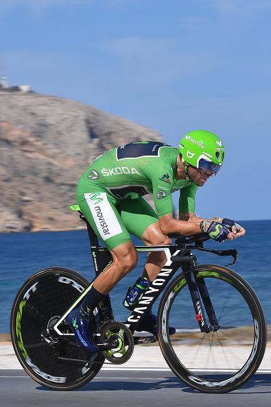 71st Tour of Spain 2016 / Stage 19 Alejandro VALVERDE Green Points Jersey…