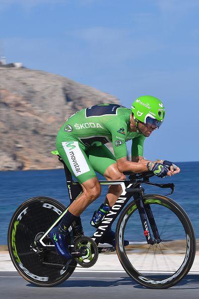 71st Tour of Spain 2016 / Stage 19 Alejandro VALVERDE Green Points Jersey…