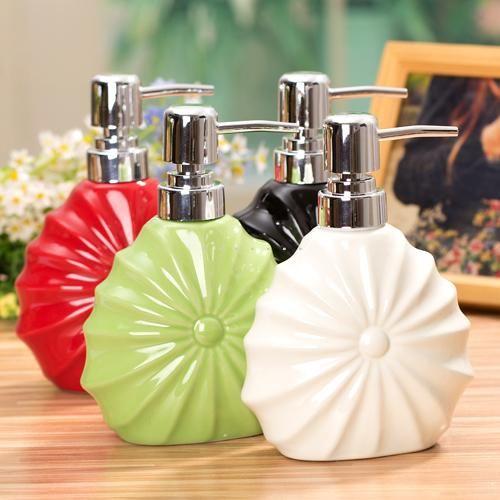 Aliexpress.com: Comprar Cerámica sanitaria jabón látex líquido botella de desinfectante para las manos botella de botella de champú de baño artículos para uso de látex suministros médicos gratuitos fiable proveedores en More&More In China