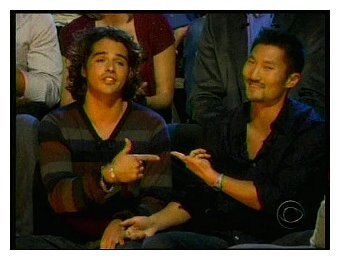 Survivor Cook Islands - the ultimate final 2 - Yul, who outsmarted everyone, and Ozzy, the challenge monster.