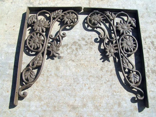 Cast Iron Brackets Kitchen Island Corbels Shelf Braces