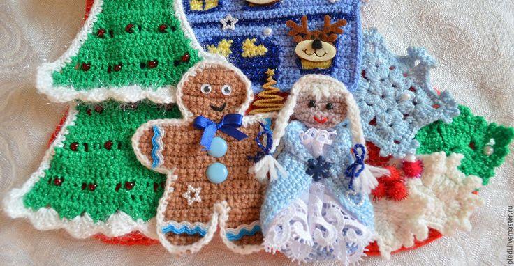 Купить Рождественский сапожок - ярко-красный, рождество, рождественский подарок, рождественское украшение, рождественский декор
