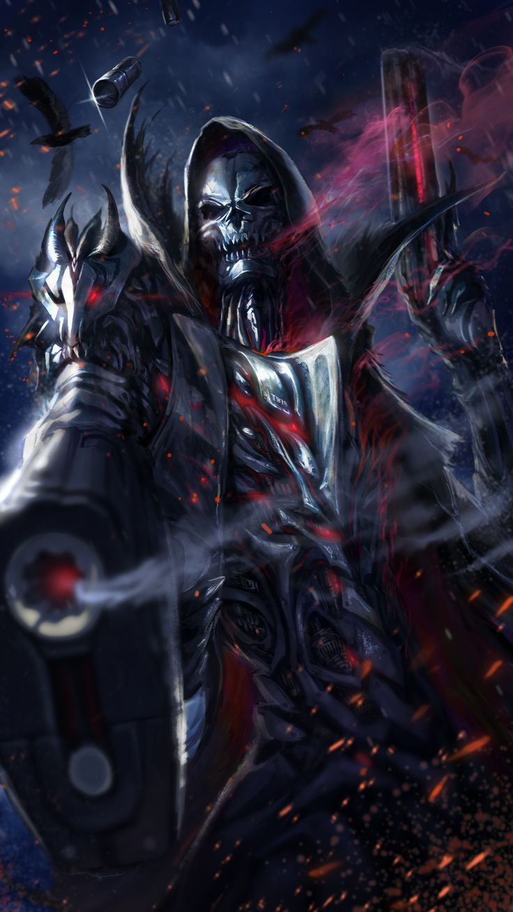 cool grim reaper live wallpaper! Ceifador da morte, Dark