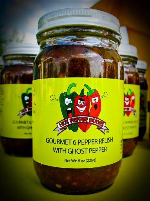 Pepper Relish with ghost PD