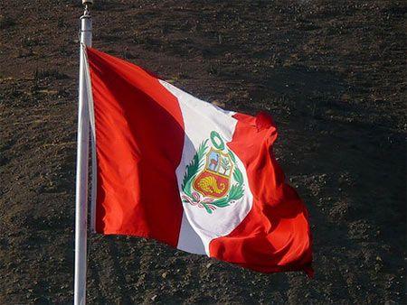Bandera de Peru - Flag of Peru