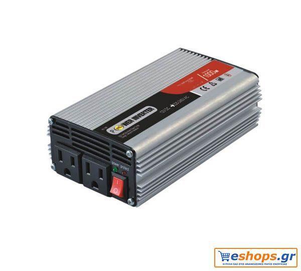 INVERTER καθαρού ημιτόνου προσφορά HIP-800-2424V DC 800W