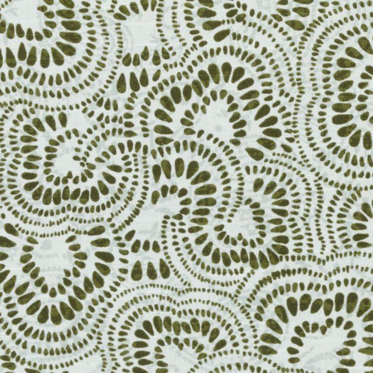 Pattern #:21084-22 Pattern Name: JAX, OLIVE Book #2937 : Tilton Fenwick Prints Book #2936 - Cactus, Ochre: Tilton Fenwick Collection