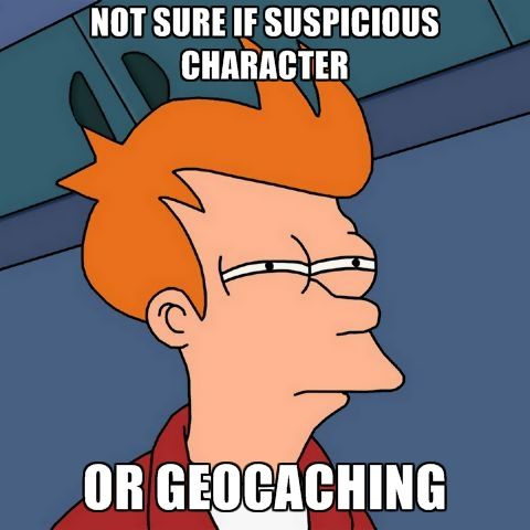#geocache #geocaching  RePin! Do you approach other people who look like they're geocaching or leave them alone?