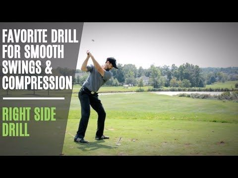 Perhaps The Best Golf Swing Drill To Improve Backswing | Get Great Ballstriking Compression - YouTube