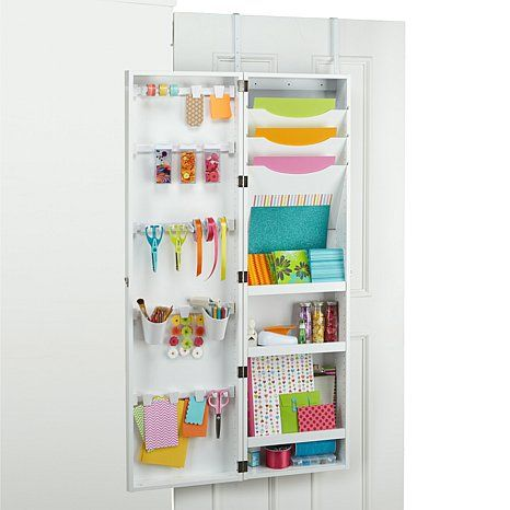 We R Memory Keepers Over The Door Craft Armoire Organizing