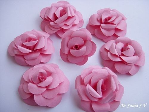 Cards ,Crafts ,Kids Projects: Paper Rose Tutorial and Guest DT at You had me at ...