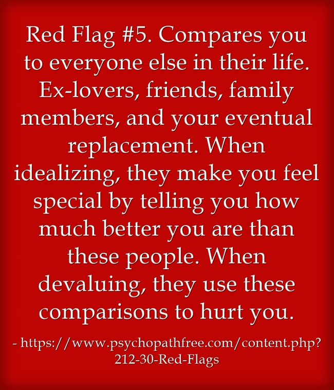 focus on the family relationship red flags
