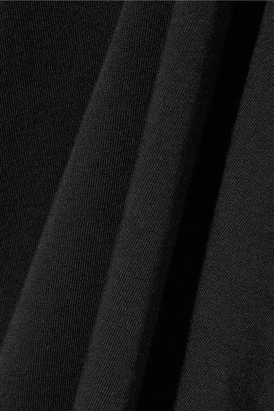 Rick Owens - Cotton-jersey Maxi Dress - Black - x large