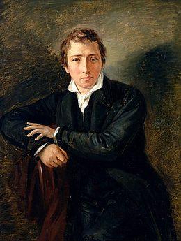 Heinrich Heine (1797-1856), deutscher Dichter, Schriftsteller und Journalist, aus Düsseldorf
